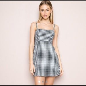 Brandy Melville Gingham Karla Dress